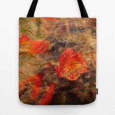 Paper Flowers Tote Bag by Fernando Vieira