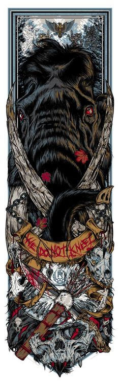 Rhys-Cooper-Game-of-Thrones-Call-The-Banners-Prints-Series-3-We-Do-Not-Kneel-2015.jpg (420×1330)