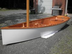 Goat Island Skiff - Simplicity with elegance. This is the essence of what I desire in a skiff.