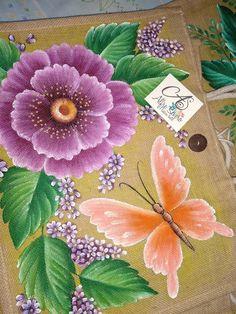 Oriental Flowers, Fabric Paint Designs, Flower Artwork, Acrylic Art, Fabric Painting, Folk Art, Art Decor, Embroidery Designs, Doodles