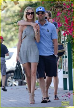 ROSIE HUNTINGTON-WHITELEY OUT WITH JASON, JULY 5, 2014