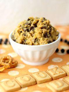 Healthy Cookie Dough Dip.....nuf sed .... Hmmmmmmm