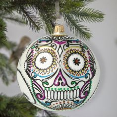 Immerse yourself in a truly magical sensation of Christmas with our luxurious, beautifully designed, hand-crafted ornaments. BluBom is an online shop offering highly specialized, professional Christmas ornaments manufactured by Szklana Gwiazda - a polish company delivering unique Christmas baubles Glass Christmas Ornaments, Christmas Tree Decorations, Halloween Decorations, Holiday Decor, Very Scary, Handmade Ornaments, Skull And Bones, Handmade Home Decor, Free