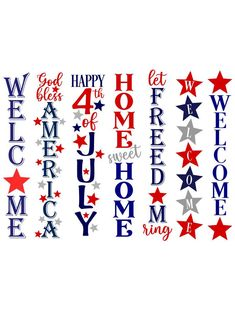 Monogram Alphabet, Monogram Frame, 4th Of July Fireworks, Fourth Of July, Fouth Of July Crafts, Air Explorer, Diy Hair Bow Holder, Front Porch Signs, 4th Of July Decorations