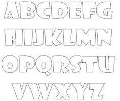 Resultado de imagen para letra decorativa para carteleras
