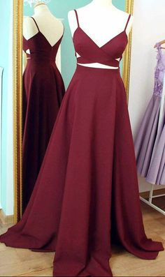 prom dresses,Gorgeous prom dress,Burgundy Prom Dresses,Long Sexy Evening Gowns,Formal Dress For Teens