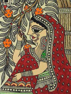 Easy Drawing Village Lady Madhubani Painting x - Village Lady Madhubani Painting x Buddha Kunst, Buddha Art, Madhubani Art, Madhubani Painting, Art And Illustration, Cat Illustrations, Rajasthani Painting, Rajasthani Art, Kalamkari Painting