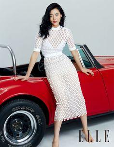 Liu Wen by Zack Zhang for Elle China June 2015