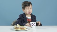Watch American kids react to breakfast foods from around the world