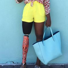 As many people missing a limb will tell you, it's hard to find prosthetics that allow you to show off your personal style.  Scroll through the gallery above to see some of our favourites and let us know which ones you like best by tweeting @YahooStyleCA.