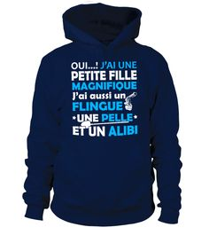 J'ai une Petite Fille Magnifique  #gift #idea #shirt #image #mother #father #mom#dad #son #papa #suppermom #supperfather #coffemugs