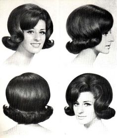 "Vintage Hairstyles The flip. Had this in the mid this looks just like my Sister's ""hairdo!"" - That Girl! Marlo Thomas, 1960s Hair, Hair Flip, 1960s Fashion, Sporty Fashion, Ski Fashion, Fashion Women, Winter Fashion, Retro Hairstyles"