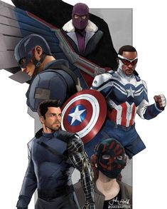 Marvel Fan Art, Marvel Comics Art, Avengers Comics, Steven Universe Characters, Marvel Drawings, Fun Illustration, Superhero Design, Marvel Captain America, Disney Plus