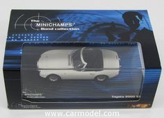MINICHAMPS 400166230 1/43 TOYOTA 2000GT SPIDER 007 JAMES BOND - YOU ONLY LIVE TWICE