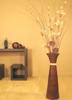 Floor Vase | Living rooms, Room and Decoration
