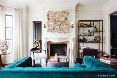 An Eclectic Greystone in Chicago   Rue