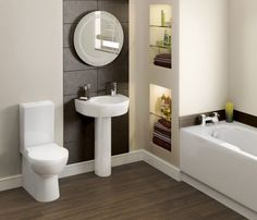 Small Rectangular Bathub For Minimalist Bathroom Design : Some The Best Samples Of Minimalist Modern Tubs For Small Bathrooms