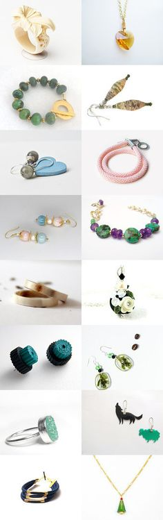 Handmade jewellery - shop unique this Black Friday by BoulotDodo on Etsy--Pinned with TreasuryPin.com