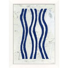 Wendover Art Group Blue Stripe Ii Navy By (13,345 PHP) ❤ liked on Polyvore featuring home, home decor, wall art, artwork, blue home decor, paper wall art, blue wall art, navy blue wall art and navy blue home accessories
