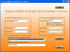 Convert whole MySQL database