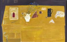 Dame Elizabeth Blackadder Elizabeth Blackadder, Staffin, Skye Elizabeth Blackadder, Still Life with Goblet Elizabeth. Gallery Of Modern Art, Museum Of Modern Art, Glasgow Museum, Blackadder, Edinburgh Festival, 85th Birthday, Yellow Table, Tate Britain, Contemporary Art