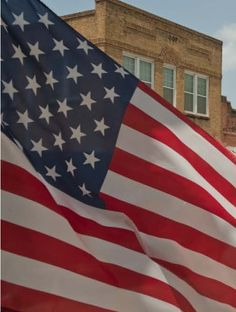 The American Flag is an integral part of any Town Square throughout America...