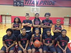 2015 Port Arthur Memorial High School Lady Titans Basketball Team  Playoff schedule