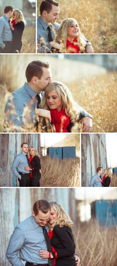 Andrew & Darby Mad Men Inspired Engagement session.