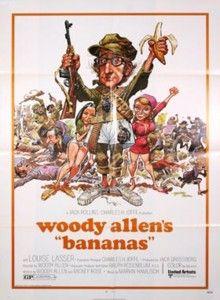 Bananas Film de Woody Allen (1971)