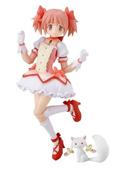 Madoka Kaname Figma Puella Magi Madoka Magica Action Figure'Just being able to help others is enough to make me happy!'From the popular anime 'Puella Magi