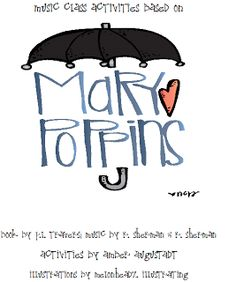 Wild About Elementary Music: Mary Poppins Activity Pack