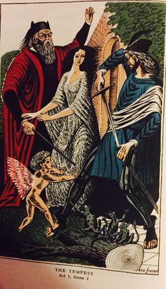 William Shakespeare's: The Tempest Act 1, Scene 2.