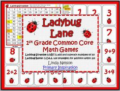 FREE two games for first grade Common Core math