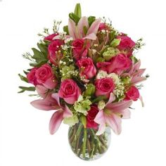 Patterned after the bridal bouquet from our Pink Collection of Arranged Wedding Flowers, the Perfectly Pink Bouquet of flowers is the perfect gift for any and every occasion! For more information visit: http://www.growersbox.com/flowers/perfectly-pink-bouquet-wvase