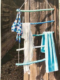 Landidee Wohnen&Deko 06/07 2014 Handtuchhalter für die Gartendusche