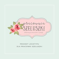 Logo for the blog Pracownia Szeluszki created by Anemon Studio. For more inspirations please visit anemonstudio.pl