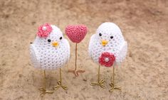Wedding Cake Decoration Birds Birds Wedding Cake by MAVECROCHET