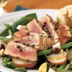 Grilled Tuna Niçoise Salad