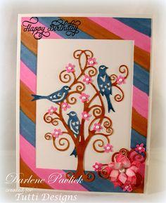 Dar's Crafty Creations: Birds in a Tree . . .