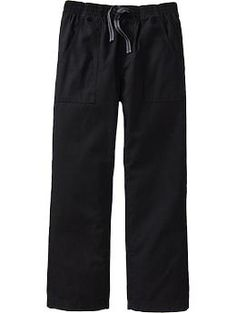 Boys Pull-On Canvas Pants | Old Navy