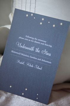 Star inspired invites. Minted.