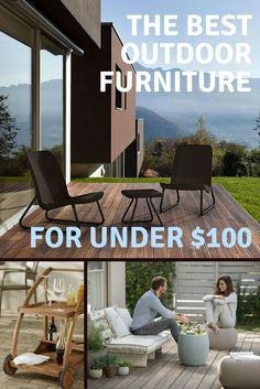 Click through for some of our favorite affordable outdoor furniture buys that will boost the function and style of your porch, patio, or deck without breaking the bank.