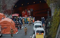 GEOLOGICAL UPHEAVAL: Tunnel Collapses Near Mt. Fuji Volcano, Japan - Five Dead, Seven Missing, Many Vehicles Buried Under the Rubble! ~ The CELESTIAL Convergence
