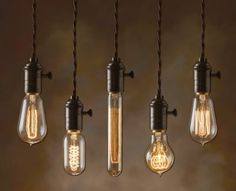 If It's Hip, It's Here: Add A Steampunk Edge To Your Lighting With Nostalgic Bulbs Like These Artists Did.
