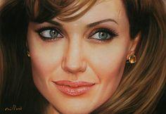 Angelina Jolie by fabiano millani by ~fabianoMillani on deviantART