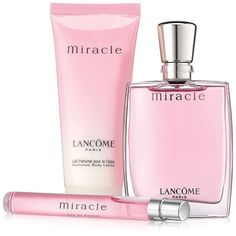 Lancôme Miracle Lotion and Eau de Parfum Set Perfume Diesel, Hermes Perfume, Best Perfume, Perfume Bottles, Celebrity Perfume, Discount Perfume, Essential Oil Perfume, Perfume Collection, Fragrance