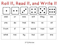 KinderKarla: High Frequency Words