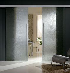 porte scorrevoli in vetro - Cerca con Google Furniture, Interior, Home, Oversized Mirror, Lighted Bathroom Mirror, Bathroom Mirror, Interior Design, Mirror