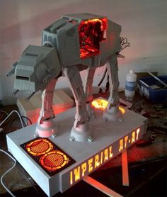 AT-AT Casemod PC -- THIS IS AWESOME!!!!!!!!!!!!!