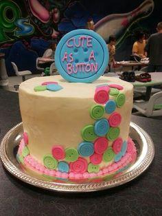 Baby girl Birthday cake Alana